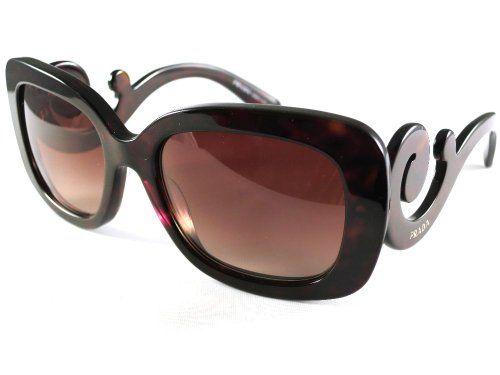 prada damen sonnenbrille pr27os 2au6s1 braun mini baroque sunglasses pinterest products. Black Bedroom Furniture Sets. Home Design Ideas