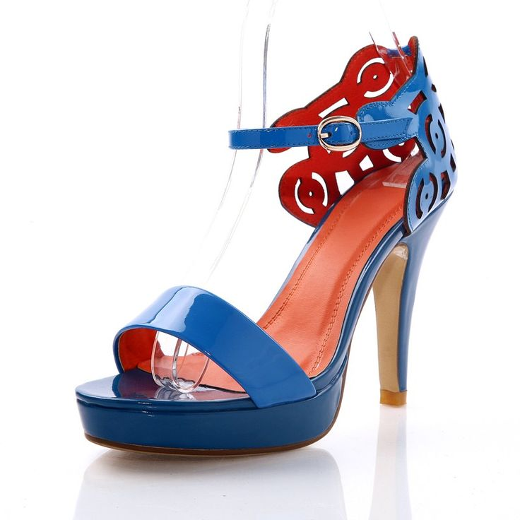 Fijn met open tenen hoge hakken fashion vrouwen