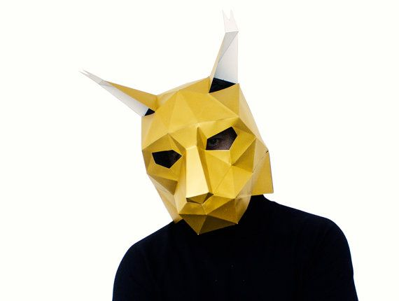 1000 images about halloween diy masks collection on pinterest cat mask donnie darko mask and. Black Bedroom Furniture Sets. Home Design Ideas