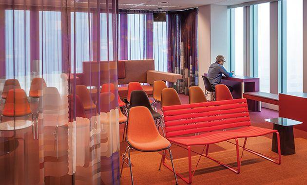 Room divider. City of Rotterdam Municipal Offices -