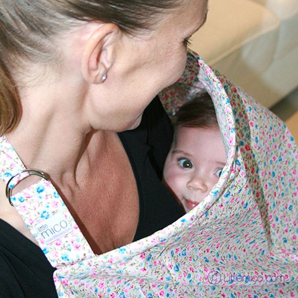 Littlemico Nursing Cover. Picabooo mama :)