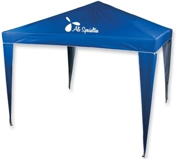 If it's outside, then you can't very well have them in the heat! Provide a little shade with this gazebo tent #promoproducts