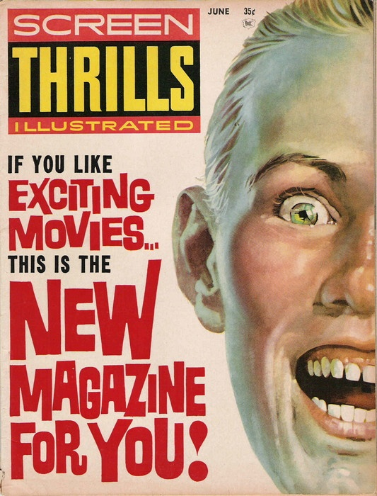 vintage magazines: Screens Thrill, Thrill Illustrations, Comic Books, Excited Movie, Books Stories, Age Comic, Vintage Magazines, Magazines Covers, Golden Age