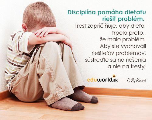 disciplína detí - eduworld.sk