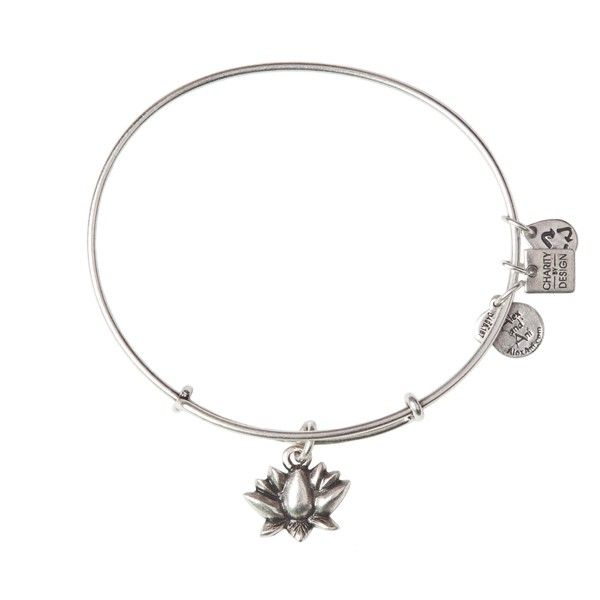 Lotus Blossom Charm Bangle | A celebration of the female spirit, the Lotus Blossom is a symbol of beauty, strength, and grace. The strong stem's connection to the flower represents an eternal, unbreakable bond between two people. Spiritually enlightening and divinely beautiful, the Lotus Blossom Charm reminds us that our relationships and shared hearts are the key to happiness. | 20% off all sales from the Lotus Blossom Bangle will go directly to Women & Infants Hospital.