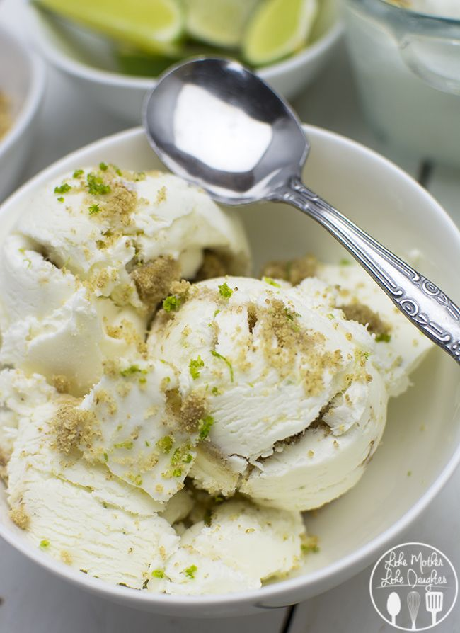 This No Churn Key Lime Pie Ice Cream is easy to make and the result is a creamy, zesty, refreshing lime ice cream that you will love!