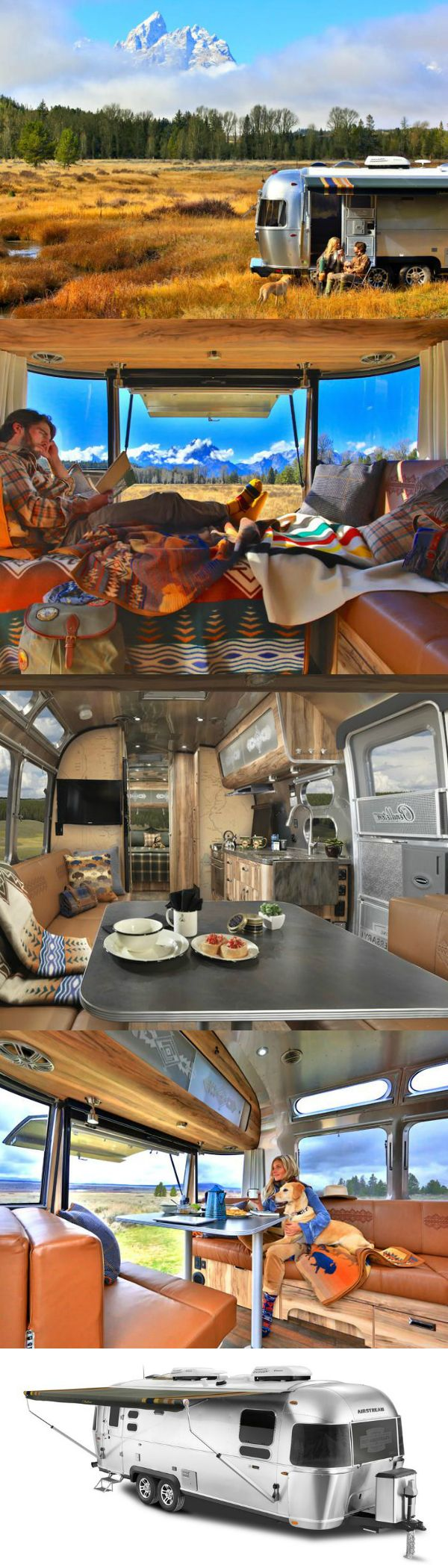 Airstream's newest limited-edition is perfect for National Park-roaming adventure-seekers who prefer their travel trailers to be dressed top to bottom with Pendleton.