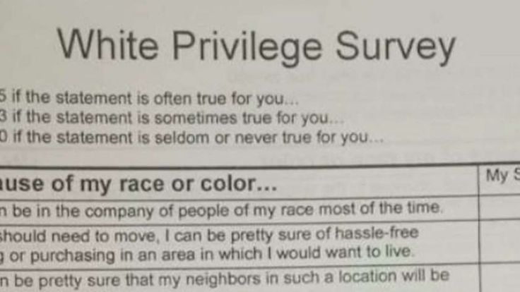 'White Privilege' survey in high school class sparks parents' ire | Fox News