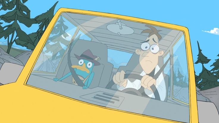 Perry the Platypus and Heinz Doofensmirtz - Phineas and Ferb