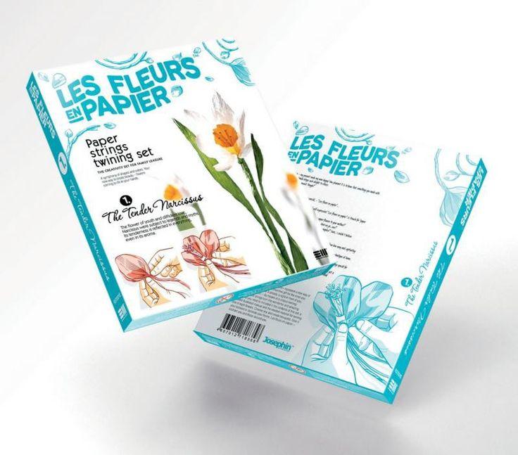 Set flori din hârtie