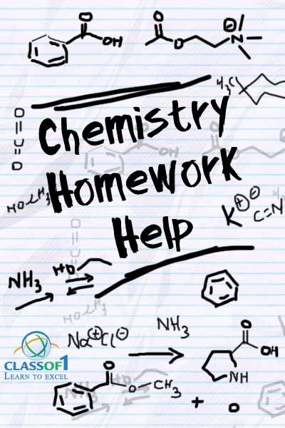 Chemistry Concepts And Applications Homework