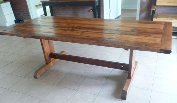 Reclaimed Barn Wood Dining Table By NewLeafCarpentryCo On Etsy 1499