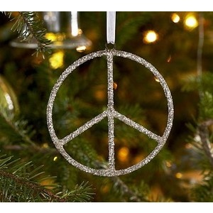 I want a glitter peace sign to hang from my mirror, but I can't find one ANYWHERE!