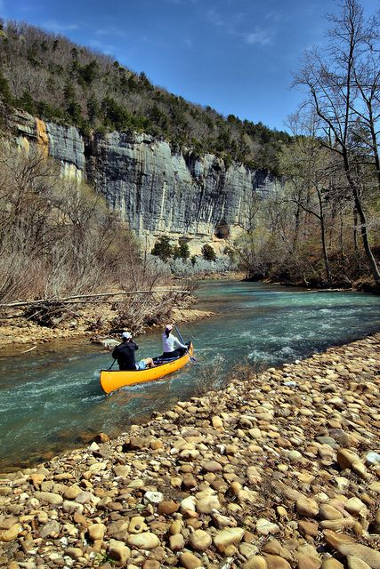 Canoing on the Buffalo River, Arkansas!  Hotel Liquidators liquidates, sells, removes, ships, and installs furniture to make your job easier for you!  Call Hotel Liquidators at (248) 918-4747 or visit our website www.hotelliquidator.net for more information!