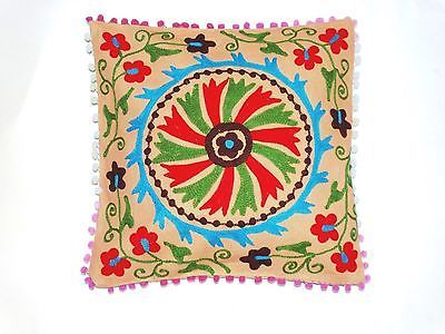18-Home-Decor-Indian-Suzani-Embroidery-cushion-Case-pillow-cover-S-282