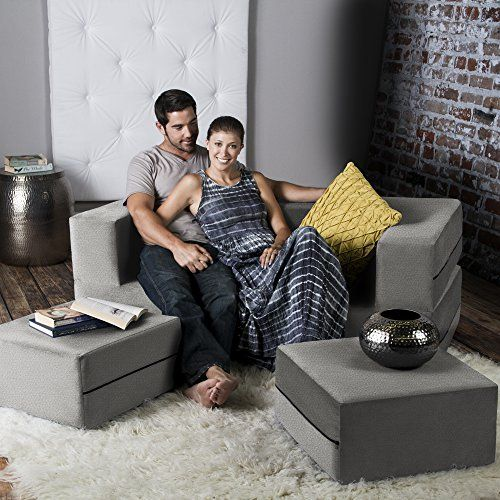 Jaxx Zipline Convertible Sleeper Loveseat & Ottomans / Queen-Size Bed Pewter Review https://swivelreclinerchairreview.info/jaxx-zipline-convertible-sleeper-loveseat-ottomans-queen-size-bed-pewter-review/