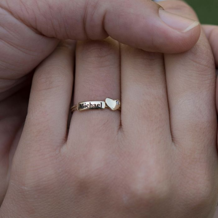 Sterling 925 Silver Gold Plated Cornelia Set Ring