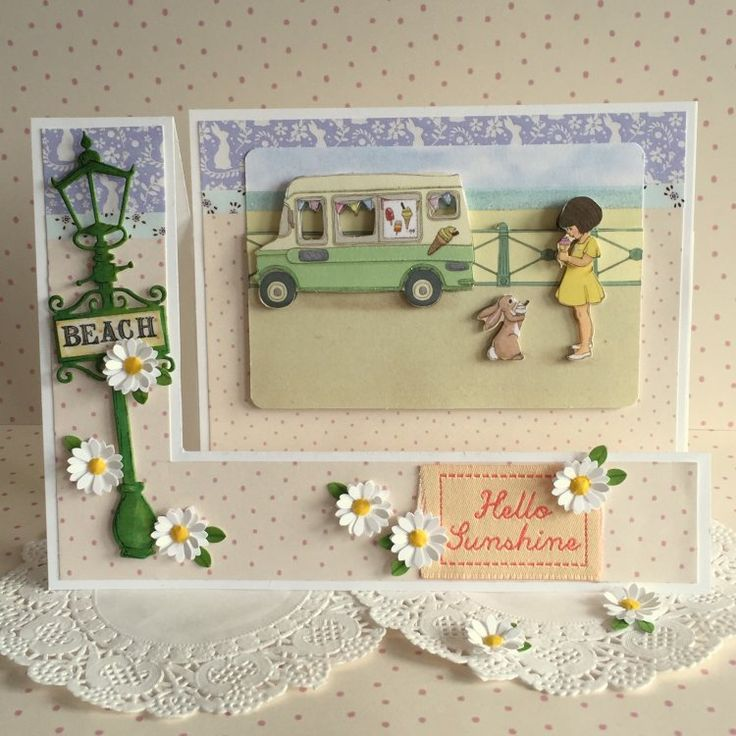 Belle and Boo Ice Cream Card by design team member Angie