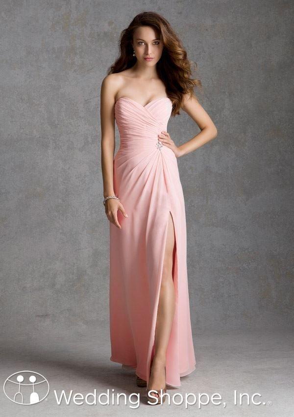 Mori Lee Bridesmaid Dress 692 In 2018 Blushing Bride Pinterest Dresses And Pink