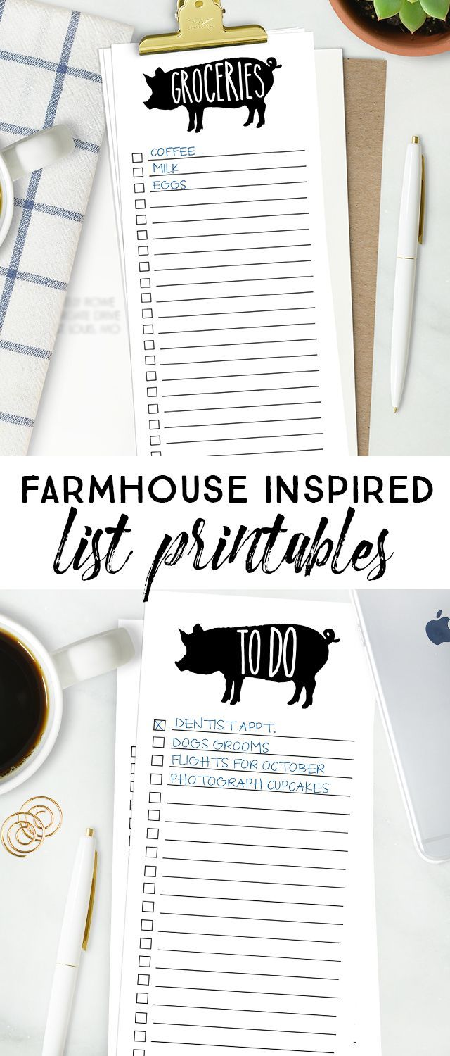 25 best ideas about Grocery list printable – Printable Grocery Lists
