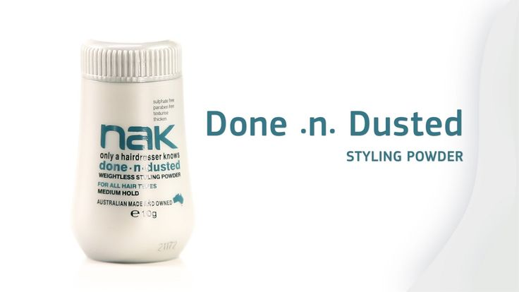 Done.n.Dusted Styling Powder #stylingpowder #hair styles #hairtrends #volume #texture #nakhair