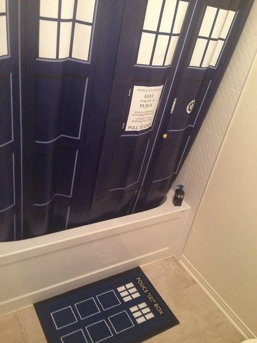 57 best My Doctor Who House Hint Hint images on Pinterest  Doctor who bathroom The doctor