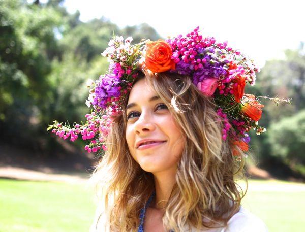 flower crown diy | kelly golightly