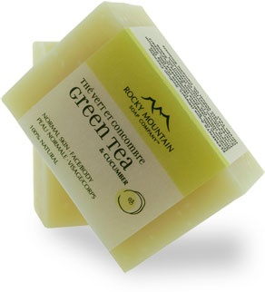 Rocky Mountain Soap Company - Green Tea and Cucumber Soap
