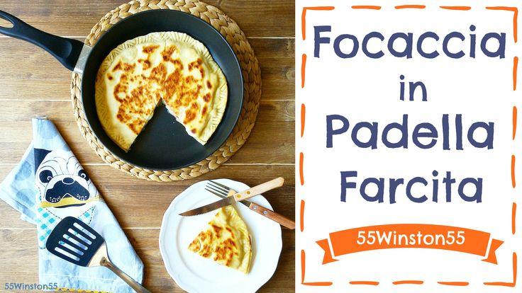 La Focaccia Ripiena in Padella è un'ottima soluzione per preparare un pranzo o una cena veloce senza rinunciare al gusto!