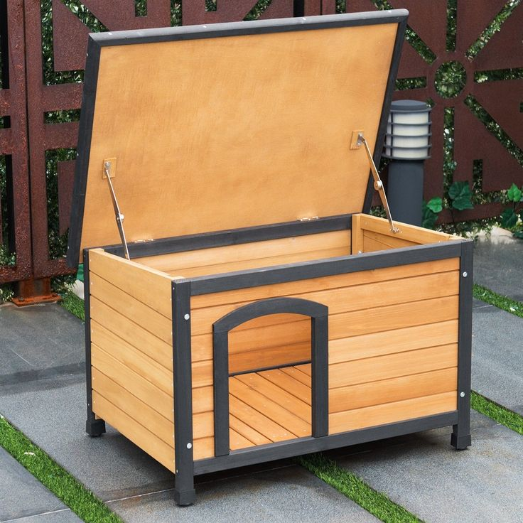Wooden Extreme Weather Resistan Dog House #Pet Shelter