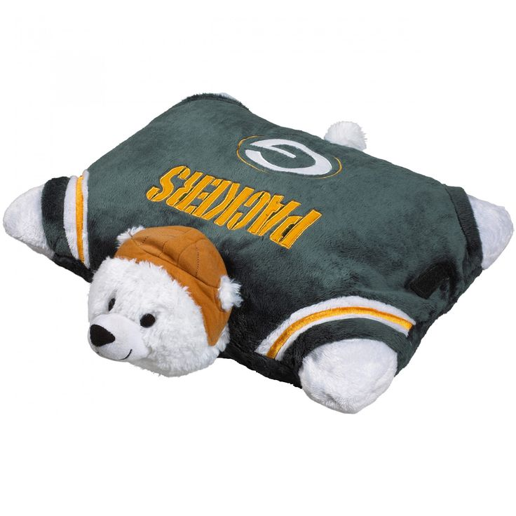 Green Bay Packers Pillow Pet at the Packers Pro Shop