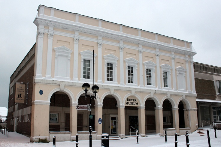 The Dover Museum Listed Building in Winter, Market Square ...