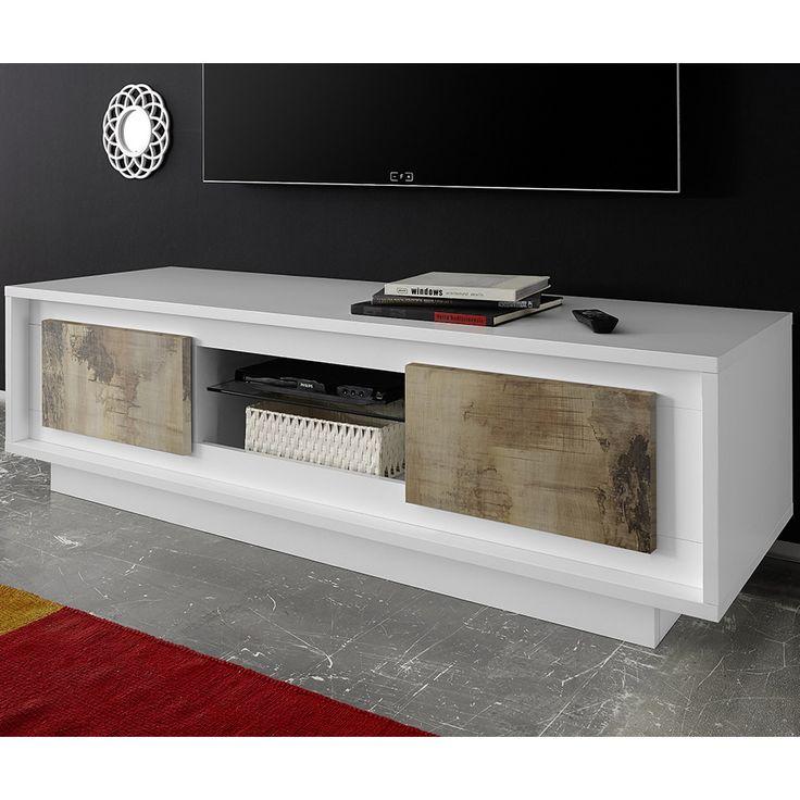 88 best meuble tv images on pinterest. Black Bedroom Furniture Sets. Home Design Ideas