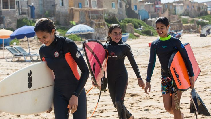 A Famous Moroccan Surf Competition Just Opened Up to Women for the First Time