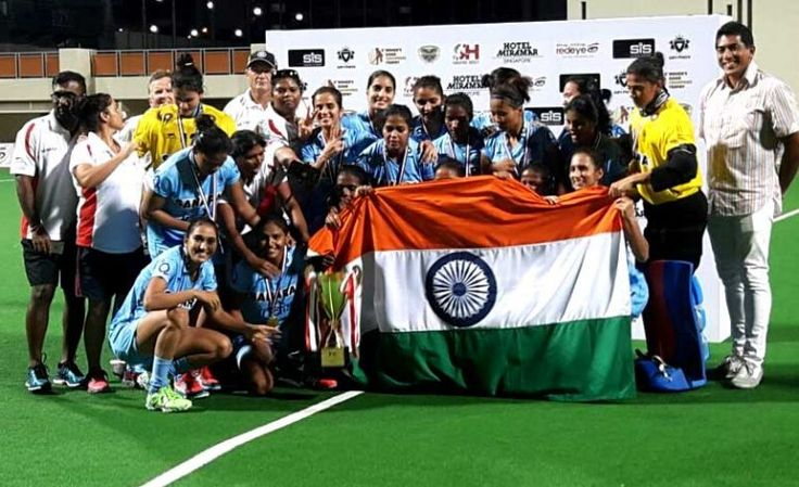 Indian Women hockey team beat China 2-1 to win Women's Asian Champions Trophy