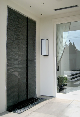 Beverly Hills Residence - contemporary - indoor fountains - los angeles -