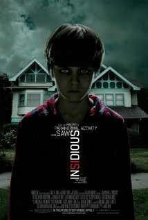 Insidious (DVD) was recommended by Cory on our blog.