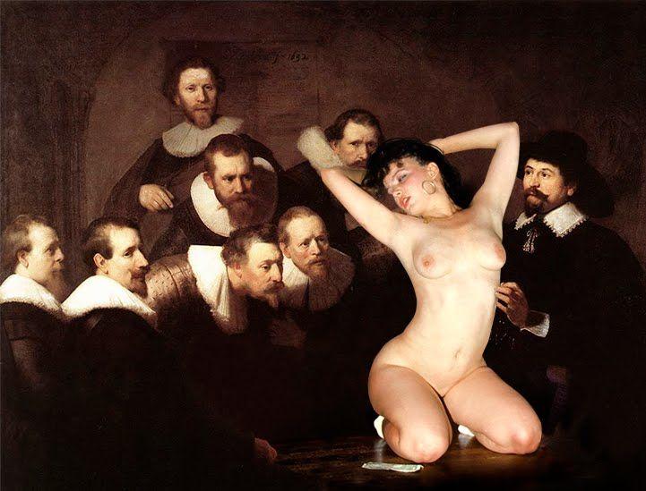 Nude lady anatomy