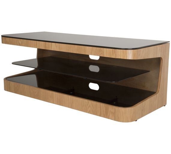 Buy AVF Up To 55 Inch TV Stand - Oak at Argos.co.uk, visit Argos.co.uk to shop online for TV stands, TV stands and wall brackets, Televisions and accessories, Technology