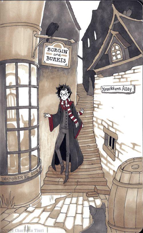 Harry Potter by Noke's Art