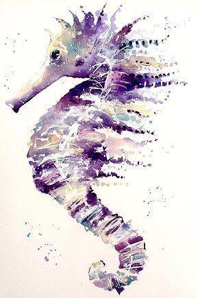Karen Thomas Aquarell – Zeitgenössisch, Lebendige Kunst – Galerie # Aquarell #G …