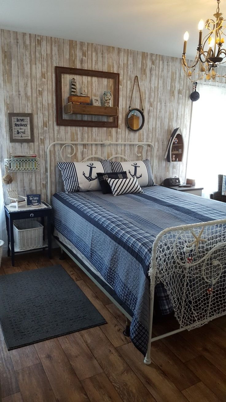 Nautical bedroom retreat