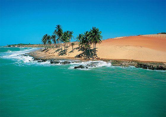 Praia da Lagoinha, Ceara.