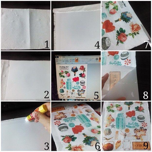 Printing on tissue paper with deskjet printer