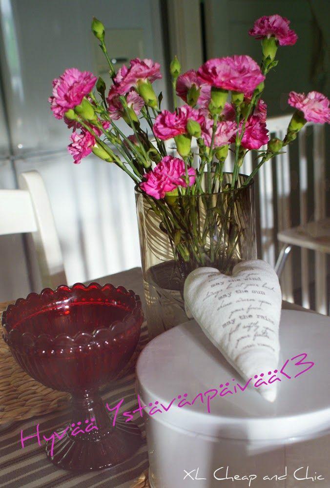 Ystvävänpäivää ja lauantailinkki - Valentine´s Day and saturday link...