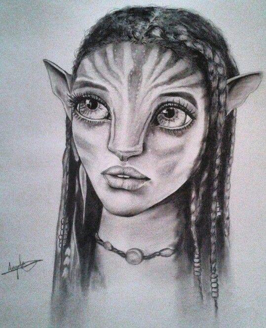 Moon In Avatar Movie: #avatar #art #draw #pandora #drawing #dibujo #pencil