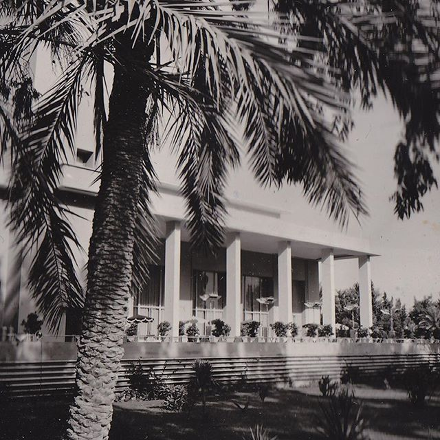 BACK TO MEMORIES: first Morocco's Casino -1952- a living legend • #palmtree #waouh #morocco #essaadi #marrakech #marrakechbydesign #fifties #remember #casino #blackandwhite #memories #time #back #exclusive #play