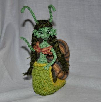 Doll amigurumi Snail (32) by Faurik