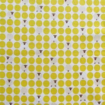 Stylish Sheep - Sheep Dot in Yellow
