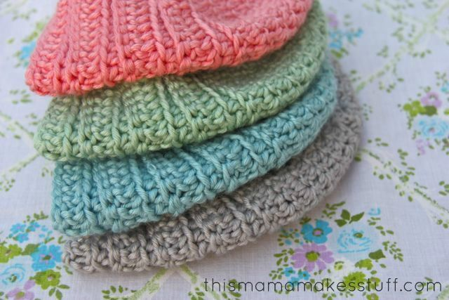 Free Crochet Pattern Baby Turban : Crochet Baby Turban Pattern & Tutorial This Mama Makes ...